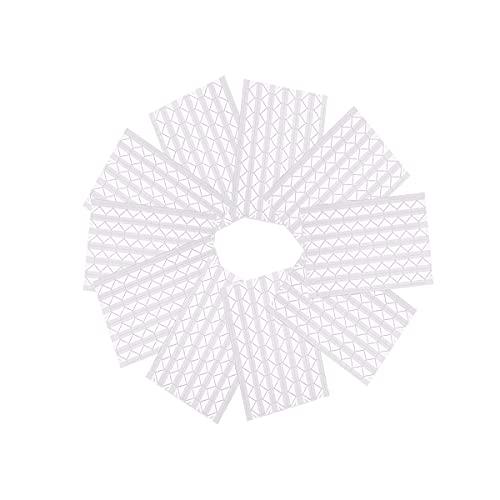 ExeQianming - Angoli per foto autoadesivi, 10 fogli di adesivi per bordi fai da te (trasparente)