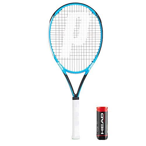 Prince Shark Series - Raqueta de tenis de grafito + bolsa de...