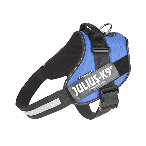 Julius-K9 16IDC-B-3 IDC Power Harness, Size: 3 (82-115cm/32.5-46.5'), Blue