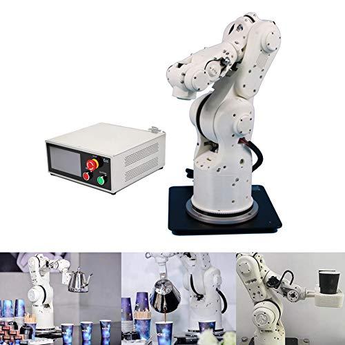 K.K Roboterarm programmierbar 6-DOF-Qualitäts Arm-Greifer Mechanische Roboter Multifunktion Mehrere Steuerungsmethoden Geeignet zum Schreiben und Lackieren Sprühen