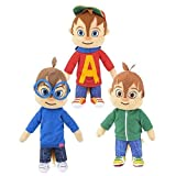 Alvin and the Chipmunks 8.5' Plush Set - Simon and Theodore