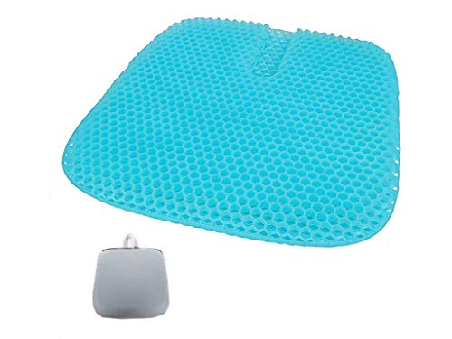JMDS Gel Chair Cushion, Office Chair Cushion, Used To Relieve Lower Back Pain, Sciatica, Coccyx, Hip And Back Pressure, Orthopedic Cushion Used In Wheelchair, Car Seat, Office Chair (46×44cm)