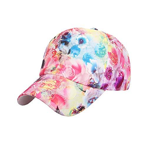 TENDYCOCO Damen Herren Baseballmütze Hip Hop Kappe für Jungen Mädchen