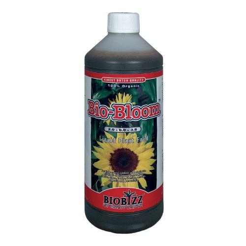 BioBizz Bio Bloom Fertilizzante Nutrimento Additivo Organico Liquido per Piante - 1L