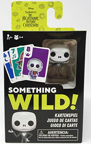 Funko- Something Wild-The Nightmare Before Christmas Disney Signature Game, Multicolore, 51871