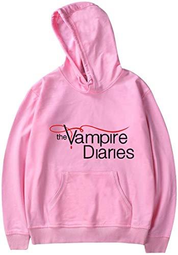 Shichangwei The Vampire Diaries Sudadera con capucha para mujer y hombre de manga larga suéteres casuales con capucha
