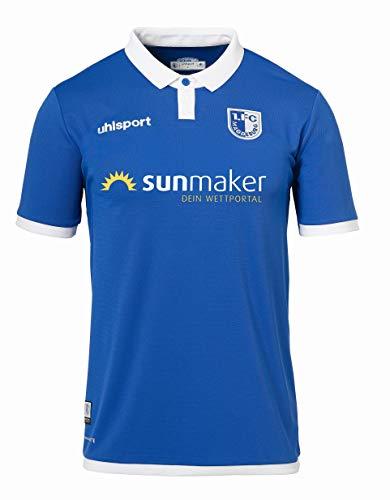 uhlsport Camiseta para Hombre del FC 19/20 Ka, Hombre, Jersey para Hombre, 1003385011130, Azul/Blanco, 5XL