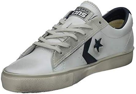 Mens Converse Pro Leather Vulc Ox Trainers - white - 36 EU ...