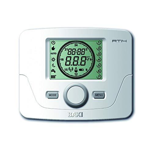 Termostato programable, modelo TCX 10C, cables incluidos, compatible con Platinum, Compact, Eco, Neodens Plus Eco, Platinum Alux y Victoria Condens, 5 x 12 x 18 centímetros (Referencia: 140040350)