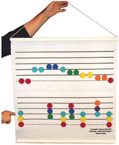 Rhythm Band Instruments LRCS30 Color Fees free!! by Felt I Max 62% OFF Staff