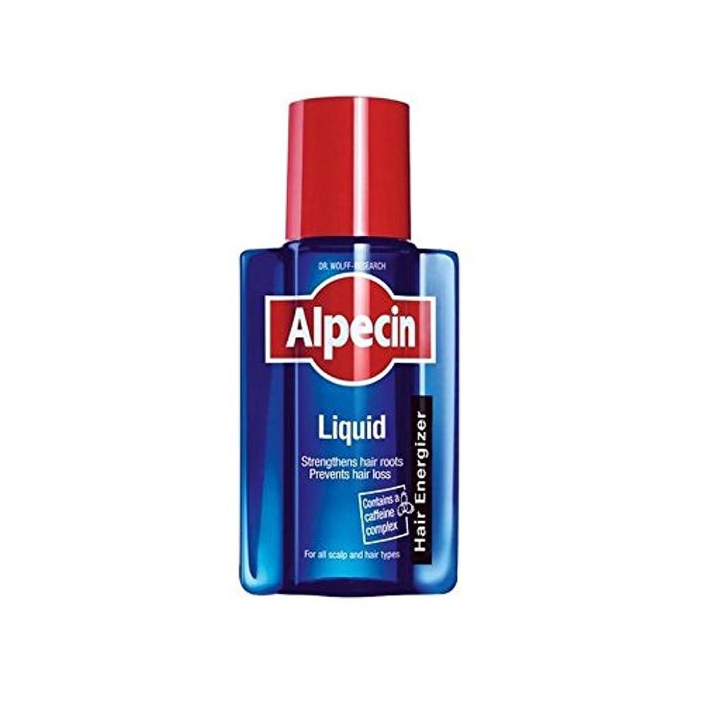 しゃがむメロドラマ航空便Alpecin Liquid (200ml) (Pack of 6) - 液体(200)中 x6 [並行輸入品]