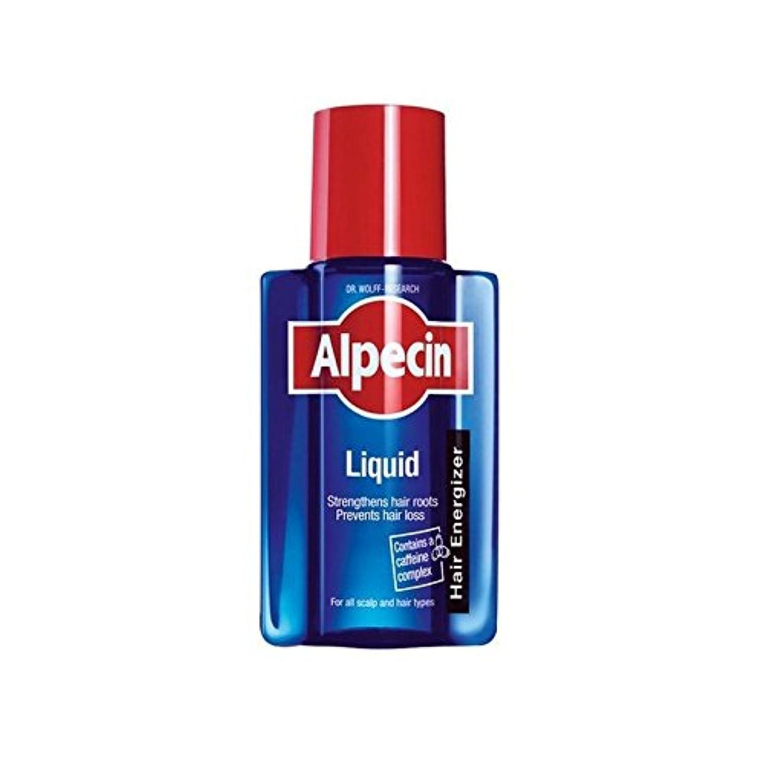 ひねり火薬豆腐液体(200)中 x2 - Alpecin Liquid (200ml) (Pack of 2) [並行輸入品]