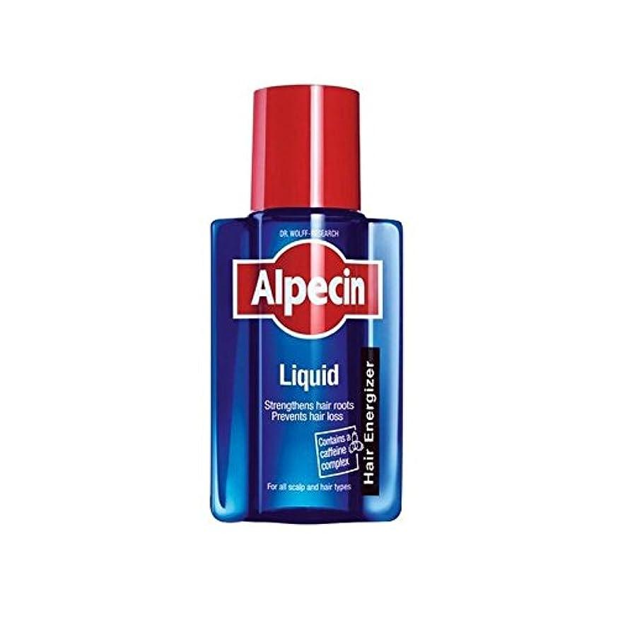 啓発するプレゼント刺す液体(200)中 x4 - Alpecin Liquid (200ml) (Pack of 4) [並行輸入品]