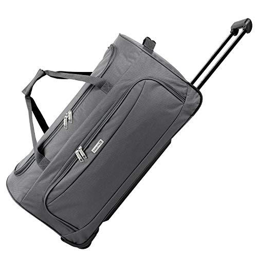 Geräumige noorsk® Reisetasche Sporttasche XL - Grau