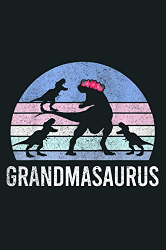 Grandmasaurus Christmas Xmas Women Men Gift To 3 Onesie:...