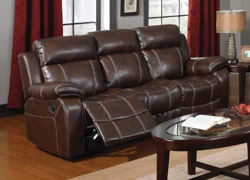 Myleene Motion Sofa with Pillow Arms Chesnut