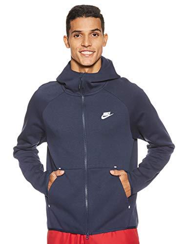 Nike Sportswear Tech Fleece, Giacca Uomo, Blu (Obsidian/White 451), Medium