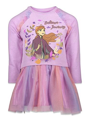 Disney Frozen Princess Anna Toddler Girls Fashion Dress Multicolored 2T