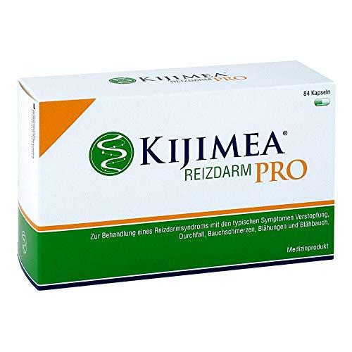 KIJIMEA® Reizdarm PRO – Therapie bei Reizdarmsyndrom (Durchfall, Bauchschmerzen, Blähungen, Verstopfung) – klinisch belegte Wirksamkeit – vegan, glutenfrei, laktosefrei – 84 Kapseln