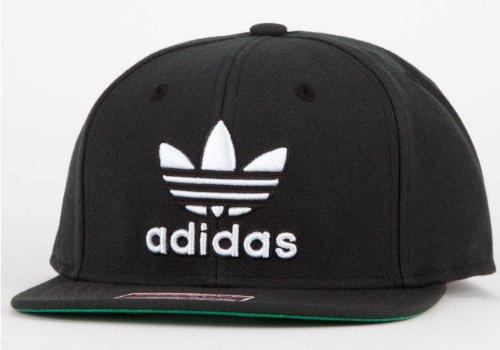 adidas Mütze Thrasher Snapback, Herren, Q10837, schwarz / weiß, Einheitsgröße