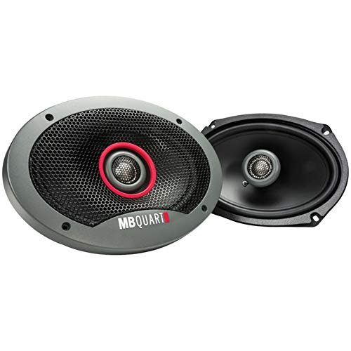 MB Quart FKB169 MB Quart Formula 6 x 9-Inch 2-Way Car Speakers, Black