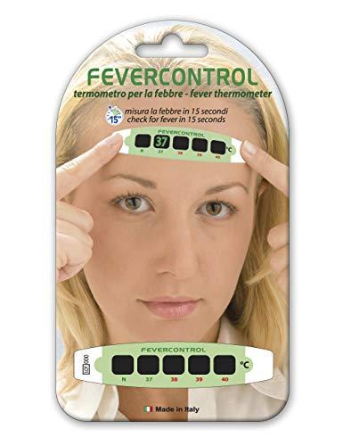 Gima 25600 Termometro Frontale Fever Control, Blister, Confezione da 10