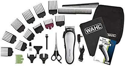 Wahl 79600-3116 Professional Lithium Ion Hair Trimmer Set with Battery-Powered