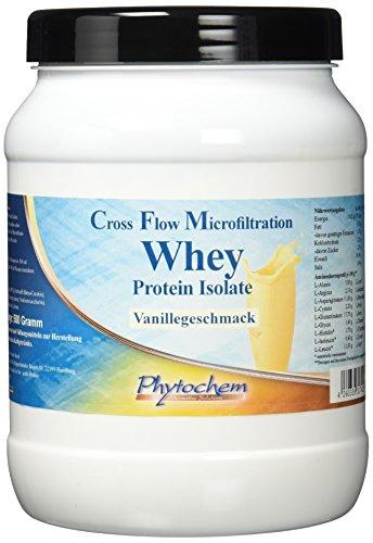 CFM WHEY ISOLATE VANILLE | reines, hochkonzentriertes Whey Protein Isolate | 500 Gramm | Premium Qualität aus Deutschland