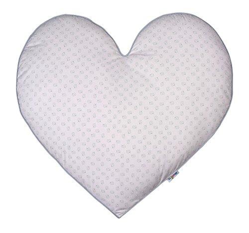 BelilyWorld Coussin de Sol en Forme de cœur