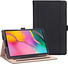 ProCase Galaxy Tab A 10.1 Case 2019 Model T510 T515 T517 - Stand Folio Case Cover for Galaxy Tab A 10.1 Inch 2019 Tablet SM-T510 SM-T515 SM-T517 -Black