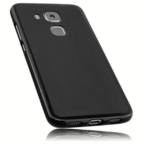 mumbi Hülle kompatibel mit Huawei Nova Plus Handy Hülle Handyhülle, schwarz