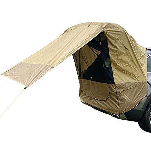 Tienda de campaña para el maletero del coche, resistente a la lluvia y al viento, viajes aire libre, barbacoas, acampadas, coches, extensiones, carrocería, ajuste mejor resistencia viento