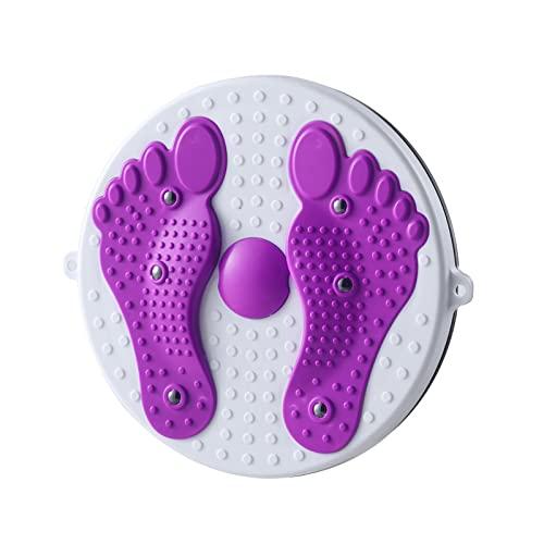 ZJMaidaxq Cintura Torsión Disc Rotating Balance Board Cintura Adelgazante Fitness Masaje de pies magnético Multifuncional Equipo de Fitness para el hogar