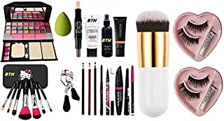 BTN Beauty PREMIUM FACE MAKEUP KIT WITH TYA 6155 Eyeshadow (Pack Of 14 item)