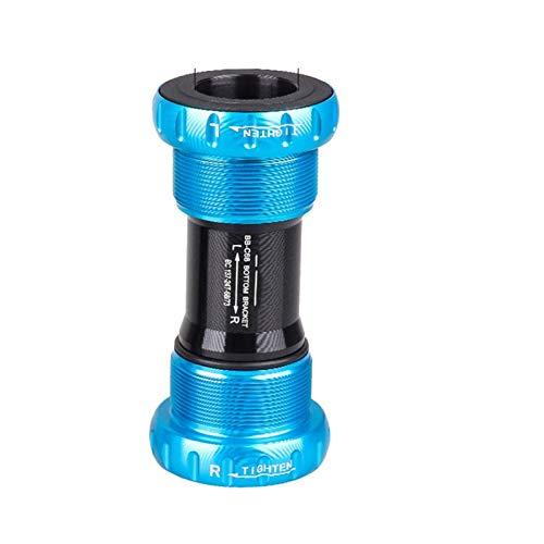 KTZAJO Kit de rosca para bicicleta MTB de 24 22 mm BB sellado/soporte inferior de rodamientos de cerámica para SR-AM G-X-P de talón de proa de cigüeñal (tamaño: azul sellado)