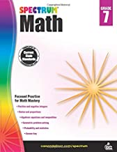 Spectrum | Math Workbook | 7th Grade, 160pgs PDF
