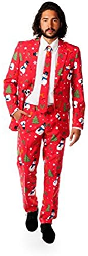 Opposuits Christmaster Costume Suit (UK 42  EU 52) by Opposuits