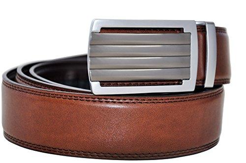 Hampton Leather Belt with Innovative Contempo Daytona...