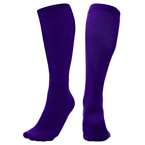 Multi-Sport Socks, Purple, Large
