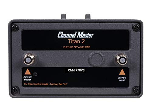 Channel Master CM-7778V3, Titan 2 Medium-Gain Mast Mounted Preamplifier for TV Antennas (Version 3). Buy it now for 75.00