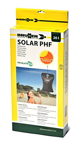 BRUNNER Campingartikel Solar Dusche Solar PHF 20L
