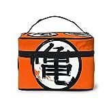 Bolsa de maquillaje japonesa Kanji Turtle Kame, bolsa de maquillaje, bolsa de viaje portátil para mujeres, organizador de maquillaje con cremallera, estuche de accesorios, estuche de herramientas
