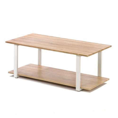 Home Locomotion Contemporary Cottage Coffee Table - Modern Design - Perfect for Your Home - Lightweight & Strong by Home Locomotion