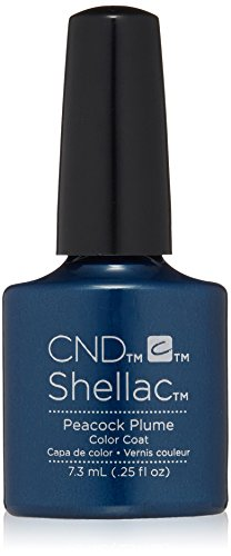 CND Shellac Peacock Plume, 1er Pack (1 x 7,3 ml)
