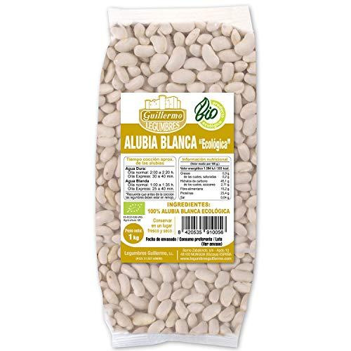 Guillermo Weißes Alubio, ökologisch, 100 % natürlich, 1 kg