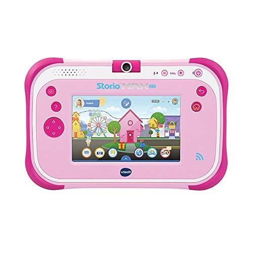 VTech - Storio Max 2. rose - Tablette pour Enfant 3 ans à 11 ans - Ecran Tactile 5 pouces - Version FR