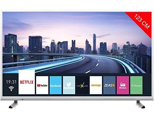 Telecomando Smart TV GRUNDIG TV TP7187R la Distanza /è Superiore a 8 Metri Mugast Telecomando TV