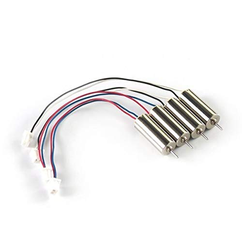 XUSUYUNCHUANG 6x15mm Coreless Motor for Blade Inductrix and Blade Nano QX (Speed: Fast) Drone Accessories (Bundle : Bundle 2)