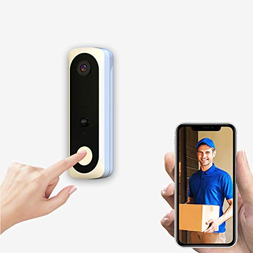KKmoon Smart Wireless Visual Doorbell Voice Intercom Night Vision Home Security Wifi Video Camera