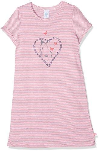 Sanetta Mädchen 232090 Nachthemd, Rosa (Kiss 3834), 104